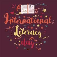 internationaler Tag der Alphabetisierung