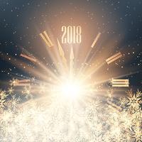 Gott nytt år klocka bakgrund