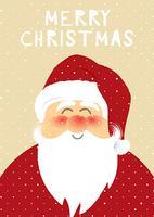 Weihnachten Santa Hintergrund vektor