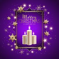 Jul ljus bakgrund vektor