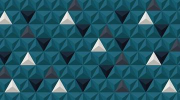 vägg bakgrund. realistisk 3d triangel form design. vektor illustration
