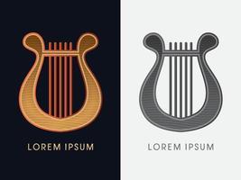 Luxus Leier Harfe