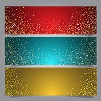Weihnachtsstern Banner vektor