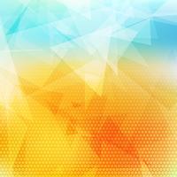 Low Poly abstrakten Hintergrund vektor