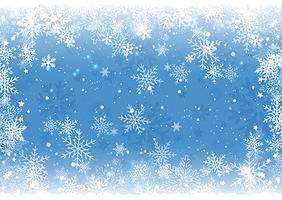 Weihnachten Schneeflocke Hintergrund vektor