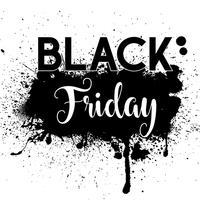 Grunge Black Friday-Verkaufshintergrund