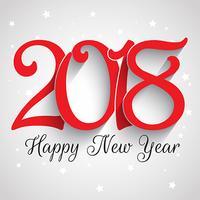 Guten Rutsch ins Neue Jahr-Typografiehintergrund vektor