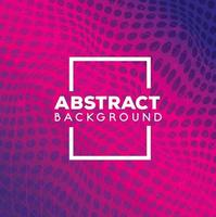 abstrakt bakgrund med livliga prickar vektor