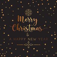 Dekorativ jul och nyår bakgrund vektor