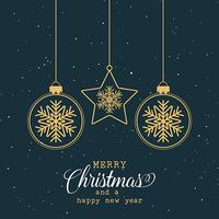 Dekorativer Weihnachtshintergrund vektor