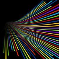 Abstrakta linjer bakgrund vektor