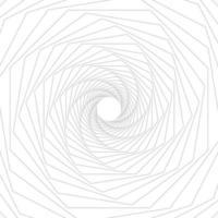 geometrische Linienkunst des grauen Achtecks auf weißem Hintergrund. Vektorillustrator