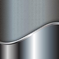 Abstrakter metallischer Hintergrund vektor