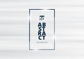 abstrakter weißer Hintergrund mit horizontaler Linienmustertextur. vektor