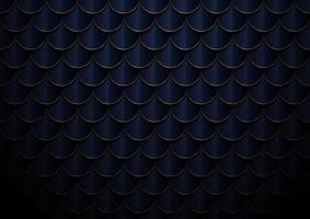abstrakt elegant mörkblå och guld geometrisk halvcirkel mönster bakgrund och textur. vektor