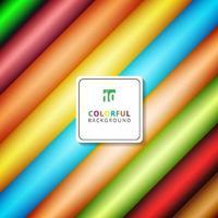 Bunte Farbverläufe des abstrakten Streifendiagonalmusters färben Hintergrund mit Raum für Ihren Text. vektor