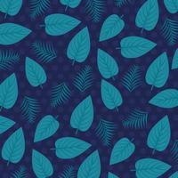 tropisk lövverkbakgrund med gröna blad vektor