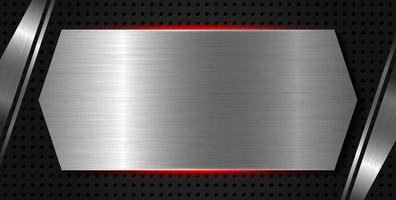 Metall Textur Hintergrund Vektor-Illustration