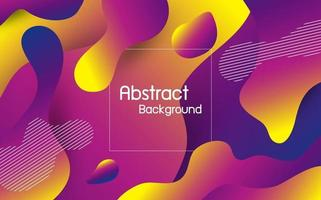 abstrakte flüssige Farbe Hintergrund Vektor-Illustration
