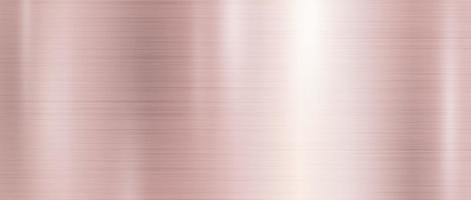 Roségold Metall Textur Hintergrund Vektor-Illustration