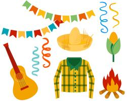 Festa Junina Vektoren