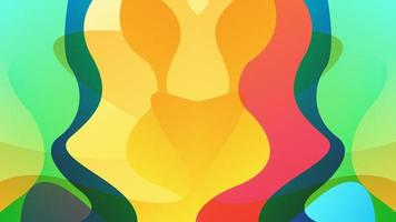 abstrakter Hintergrund mit dynamischer Wirkung. modernes Muster geeignet für Tapete, Banner, Hintergrund, Karte, Buchillustration, Landing Page, Geschenk, Cover, Flyer, Bericht, Geschäft, Social Media vektor