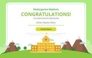 Daggard diplom certifikat mall