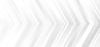 Vorlagenbanner-Design weiße und graue Verlaufsfarben. Pfeile modernen Hintergrund vektor