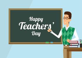 Lehrer-Tag-Vektor vektor