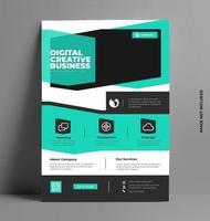 elegant broschyr broschyr mall. vektor