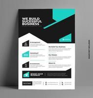 business flyer mall design. vektor
