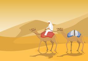 Nomad Reise Clip Art vektor