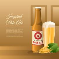 Imperial Pale Ale Produkt Vektor