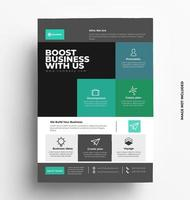 broschyr flygblad design layoutmall vektor