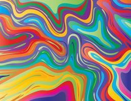 Brillante Rose und Blauviolett Inkscape Suminagashi Kintsugi japanische Tinte Marmor Papier abstrakte Kunst