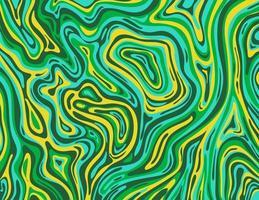 äpplegrönt och kadmiumgult inkscape suminagashi kintsugi japanskt bläck marmorpapper abstrakt konst vektor