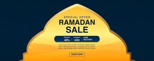 ramadan kareem vektor bakgrundsmall. eid mubarak, islamisk banner