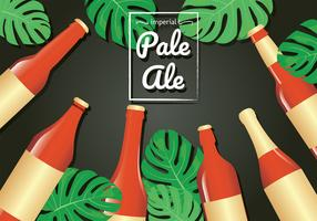 Imperial Pale Ale-Vektor-Design