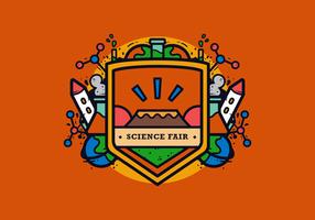 Wissenschafts-Messe-Vektor