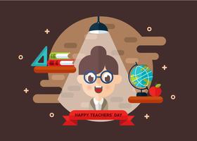 Lehrer Tag Vektor