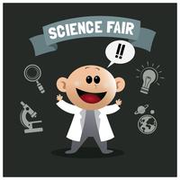 Science Fair Junge