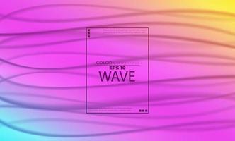 Regenbogen flüssiger Hintergrund abstrakt mit weichen Wellenflüssigkeit. coole Farbverlaufsformen, anwendbar für Geschenkkarte, Plakat auf Wandplakatvorlage, Landingpage, UI, UX, Coverbook, Baner, Social Media gepostet vektor