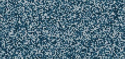 blau schimmernder Hintergrund des abstrakten Musters mit glänzenden hellen und dunklen Kreisen. vektor