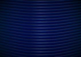 abstrakte moderne Streifen gekrümmte Linienmuster blau glänzender Hintergrund und Textur. vektor