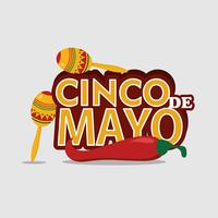 Cinco De Mayo Bakgrund vektor