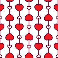 Alla hjärtans dag sömlösa mönster vektor