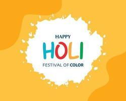 Indien Holi Festival Farbe Hintergrund Vektor