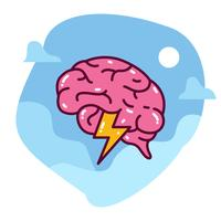 Brainstorming-Abbildung vektor