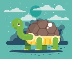 Schildkröten-Vektor-Illustration vektor