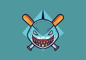 baseball maskot vektor